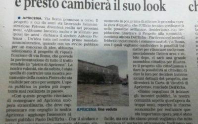Via Roma promossa corso e presto cambierà il suo look