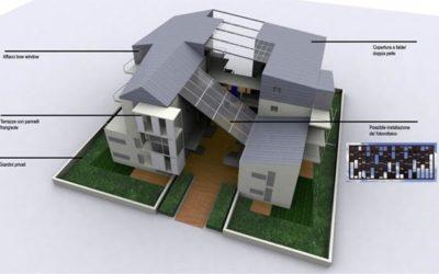 "Progetto 16 alloggi zona ""Torresina 2"" – Roma"